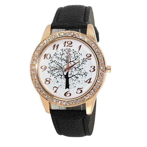 Relógio Feminino Pulseira Luxo Moda Fashion Novo Promoção