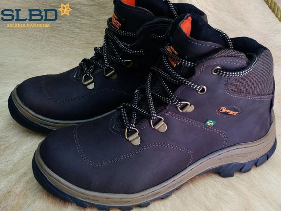 Coturno Masculino Ecosafety Ps 410 Ap Cafe Bourmet