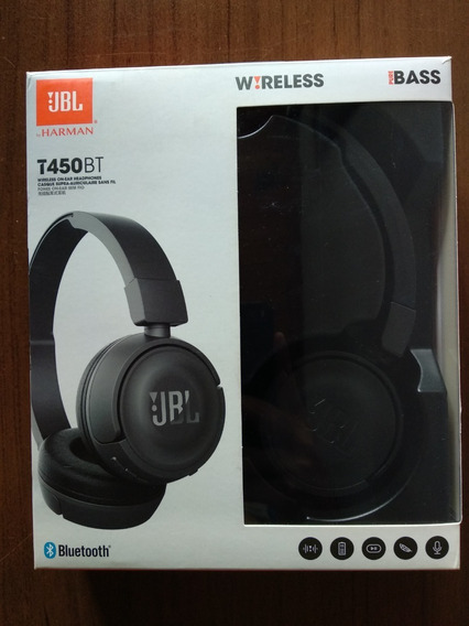 Headphone Jbl T450bt - Bluetooth Com Microfone