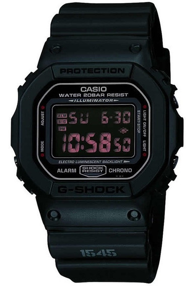 Relógio Casio - Dw-5600ms-1dr - G-shock - Military Black