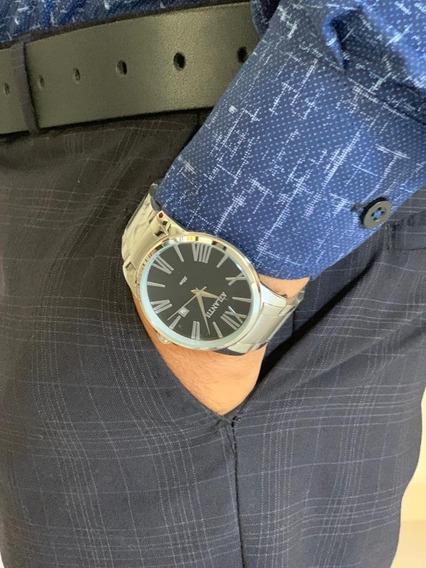 Relógio Masculino Atlantis Original Algarismo Romano+frete