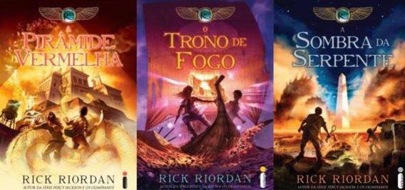 Trilogia As Crônicas De Kane, Livro 1,2,3-rick Riordan