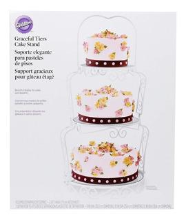 Base - Exhibidor Para Pastel Y Cupcakes Wilton 307-841
