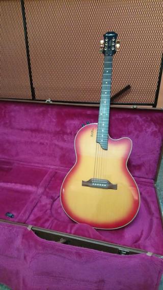 Guitarra EpiPhone Chet Atkins Cherry Sunburst Cuerpo Solido