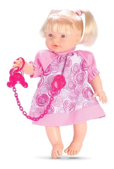 Boneca Baby Conversinha - 30cm - Fala 100 Frases - Omg