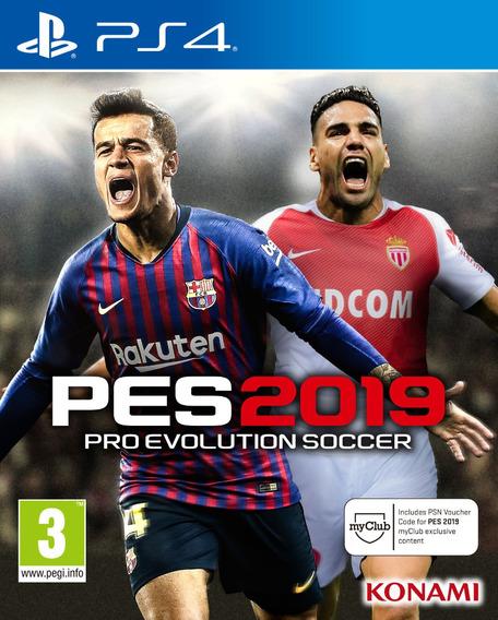 Pes 19 Ps4 Pro Evolution Soccer 2019 Psn Primaria Português