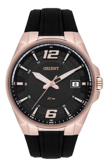 Relógio Orient Masculino Mrsp1003 G2px Aço Rose Analogico
