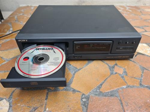 Toca Cd Player Sony Cdp M27br Usado Sem Controle Remoto