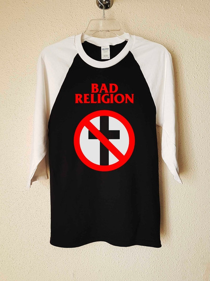 Bad Religion Logo Polera 3/4 Punk Abominatron