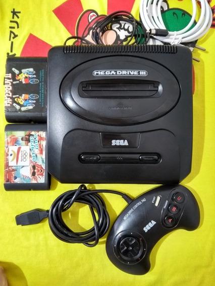 Mega Drive 3 Tectoy Completo