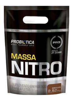 Hipercalórico Massa Nitro Refil (refil-2520g) Probiótica