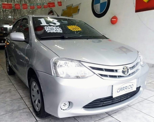 Toyota Etios Xs 1.3 Flex Prata Completo 2013