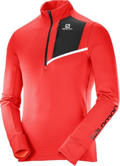 Remera Salomon - Trail Running - Fast Wing Mid - Hombre