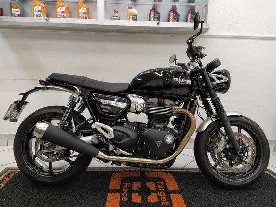 Triumph Speed Twin 1200 Preto 2019 - Target Race