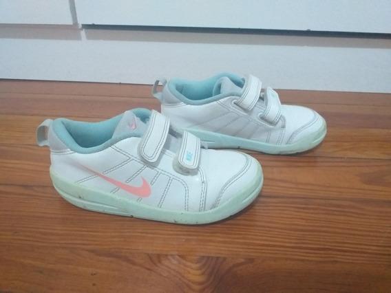 Zapatillas Nike De Cuero Blancas