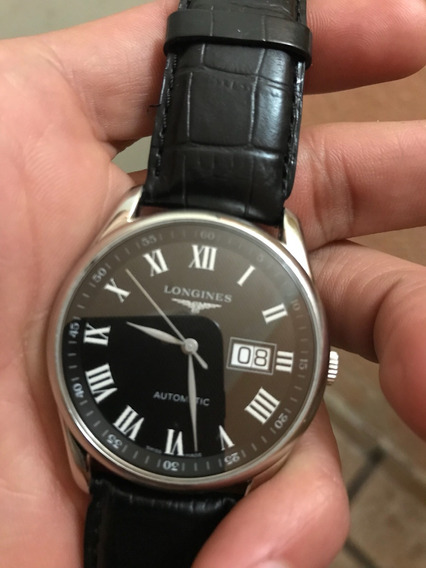Longines Master Collection Black Big Date