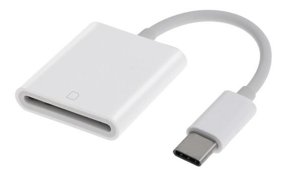 Adaptador Usb 3.1 Tipo C To Sdxc Sd Card Macbook Samsung Otg