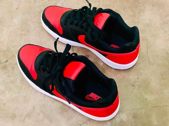 Tênis Nike Ebernon Low Tam. Br41 Usa9.5 27.5 Cm Red/black
