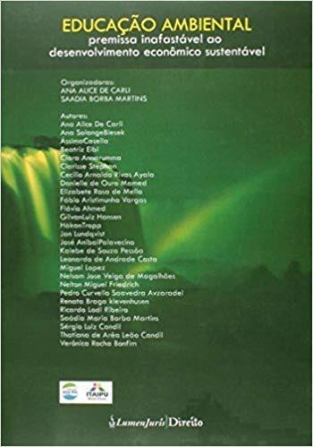 Educação Ambiental Premissa Inafastavel 1ª Edição (2014)