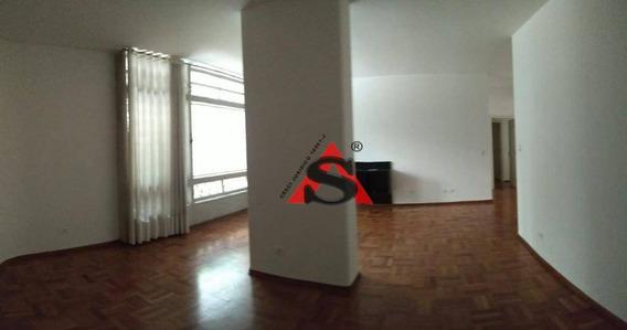 Aluga Apartamento Em Higienópolis C/ 187 M2. - Ap40551