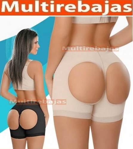 Panty Calzon Faja Colombiano Reductor Con Latex Levantacola