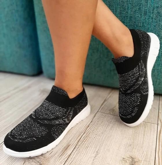 Zapatillas De Mujer Elastizadas Tipo Hush Puppies
