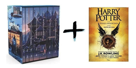 Harry Potter E A Criança Amaldiçoada + Box Saga Completa