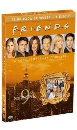 Box Friends 9º Nona Temporada Completa 4 Dvds - Lacrado
