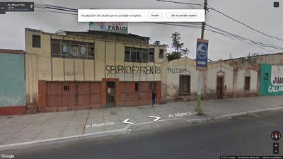Terreno Con Dos Frentes 492 M2 En Callao Céntrico.