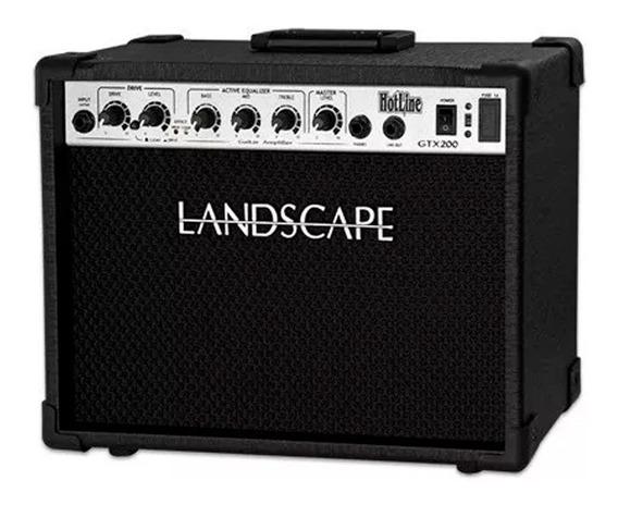 Amplificador Cubo Hotline Gtx200 Landscape Para Guitarra
