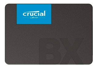 Disco De Estado Sólido Ssd Crucial 480gb Bx500 Sata 2.5mm