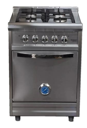 Imagen 1 de 6 de Cocina Industrial Usman - Irina Classic 55 Cm - Puerta Acero