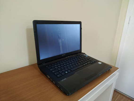 Notebook Sony Vaio Intel Core 2 Duo, 4gb, Hd 500, Tela 14