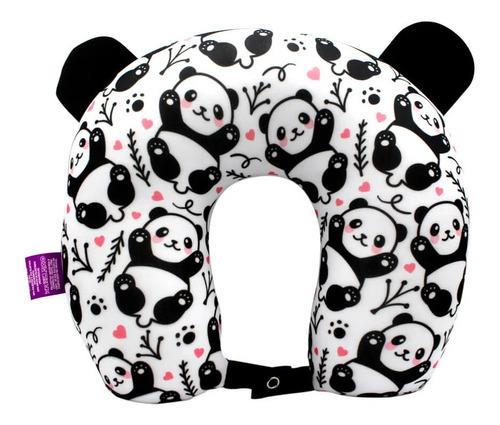 Almofada De Pescoço Microperolas Panda Zc 10064137