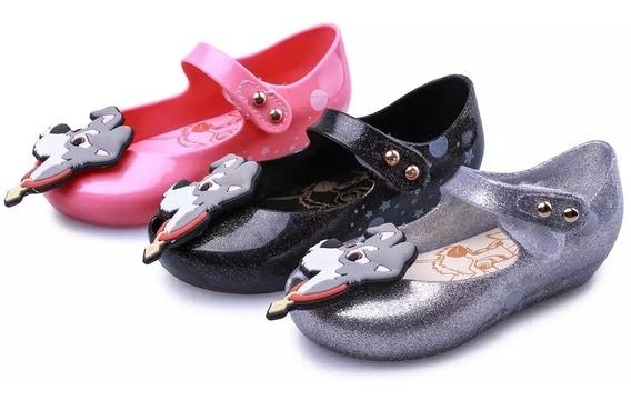 Zapato Niña Mini Melissa Dama Y Vagabundo 13 A 18 Cm