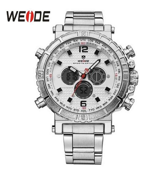 Relógio Original Weide 6305 Masculino Analógico Digital