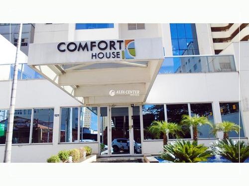 Apartamento Com 1 Dormitório À Venda, 40 M² Por R$ 220.000,00 - Setor Central - Goiânia/go - Ap1728