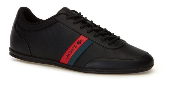 Tenis Lacoste Storda 318 7-36cam00741b5 Leather Originales