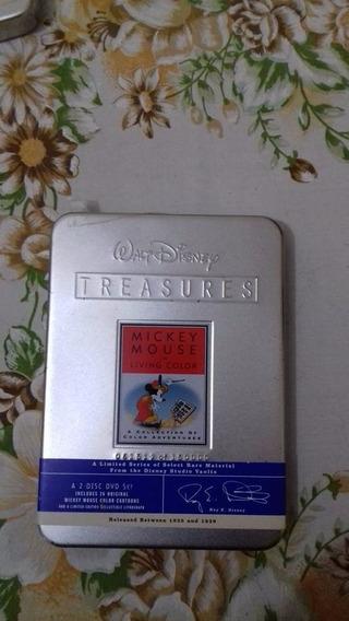 Dvd Walt Disney Treasures Mickey Mouse Ed Colecionador Raro!