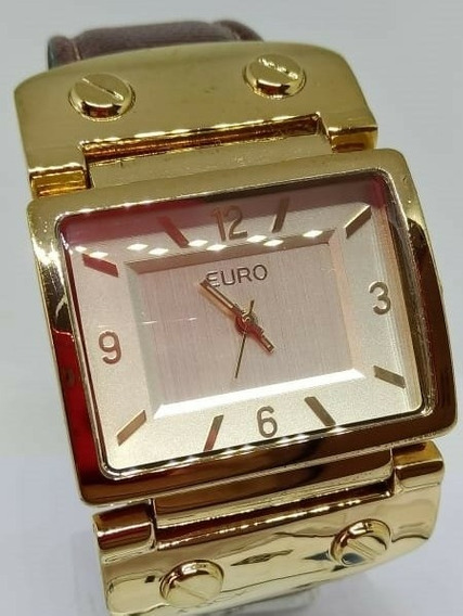 Relógio De Pulso Feminino Euro T05230 Quartz Webclock