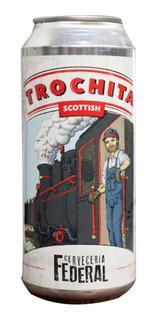 Cerveza Federal - Scottish - Lata 473 Cm Pack X12 Artesanal