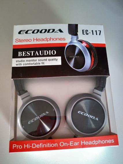 Fone De Ouvido Headphone Para Celular Ou Pc Ecooda Ec-117
