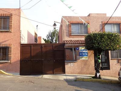 Casa En Renta En Condominio En La Magdalena Contreras