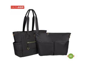Bolsa Maternidade Skip Hop - Chelsea 2 In 1 - Black