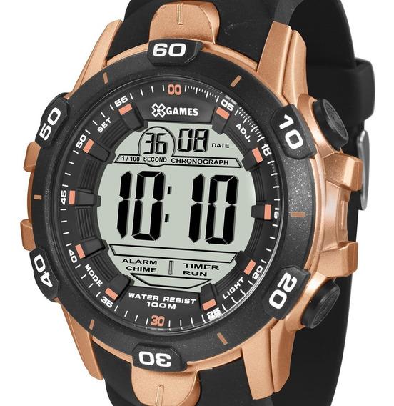 Relógio X-games Masculino Digital Xmppd413 Bxpx + N. Fiscal