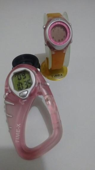 2 Relógios Timex.