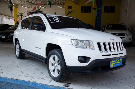 Jeep Compass Sport 2013 Top C/teto,interior Bege,baixo Km