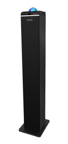 Caixa De Som Torre Com Led Giratório 12x S Juros