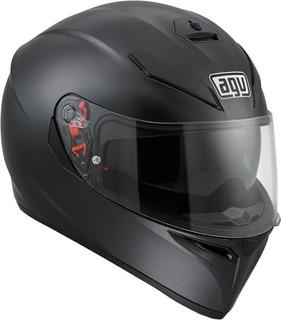 Casco Cerrado Agv K3 - Sv Negro Mate Rider One