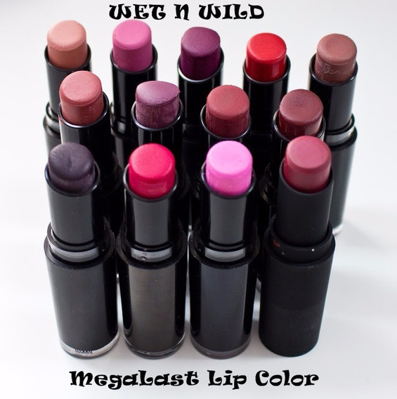 Labiales Wet N Wild Megalast Lip Color